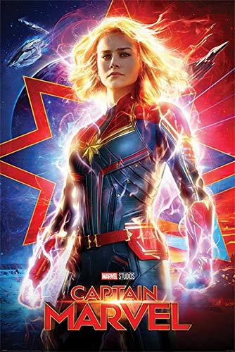 Captain Marvel Poster Higher, Further, Faster (61cm x 91,5cm)
