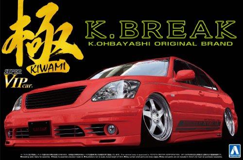 Aoshima Bunka kyozai 1 24 Super Vip Coche Serie No.107 - pole K-Break Toyota 30 CE
