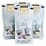 Coffee Masters Gourmet Coffee, Ethiopian Yirgacheffe, Whole Bean, 12-Ounce Bags (Pack of 4)