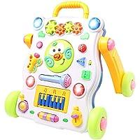 AKOi ベビー ファーストウォーカー 2in1 ビジーボード 手押し車 知育 子どもプレゼント (668-42)