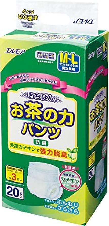 ロードされた咲く知覚いちばん お茶の力パンツ M~Lサイズ 20枚
