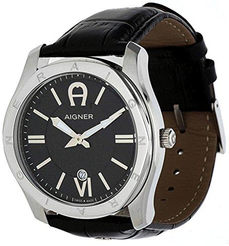 [ アイグナー ] AIGNER 腕時計 ドイツブランド スイスメイド 44㎜径 3ATM A42117 [並行輸入品]