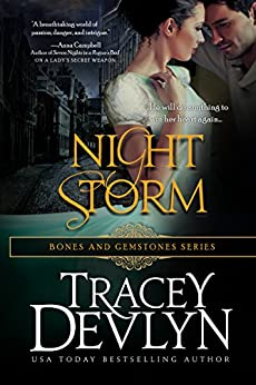 Night Storm (Bones & Gemstones Book 1) by [Devlyn, Tracey]