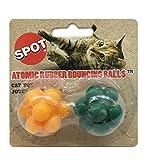 アトミックバウンド ボール(猫用おもちゃ)2 個セット アソートカラー [並行輸入品]