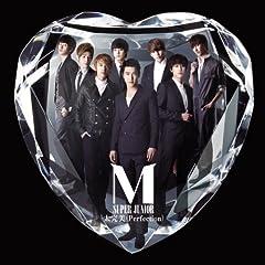 太完美 (Perfection) -Japanese Version♪SUPER JUNIOR MのCDジャケット