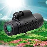 単眼望遠鏡 単眼鏡 12x50 ズーム望遠レンズ 高倍率 スマホ望遠レンズ 小型 軽量 旅行、登山、コンサート、天体観測、昆虫観察、競馬、スポーツ観戦及び移動している動物の追跡に最適な望遠鏡 …