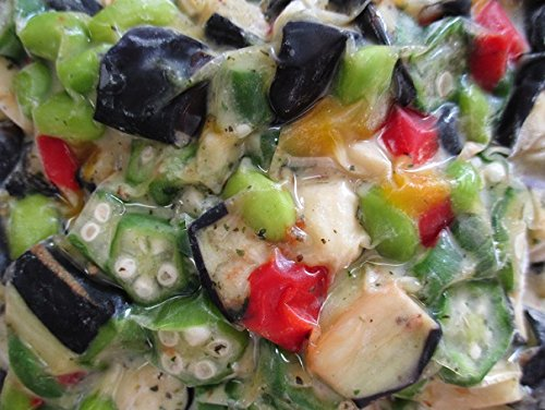 小鉢 冷凍 夏野菜5種の彩り和え 500g 惣菜 味付してあります。