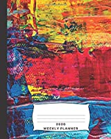 2020 Weekly Planner: and Monthly Planner with enjoyable atheist quotes about atheism and religion (cover with abstract modern painting)