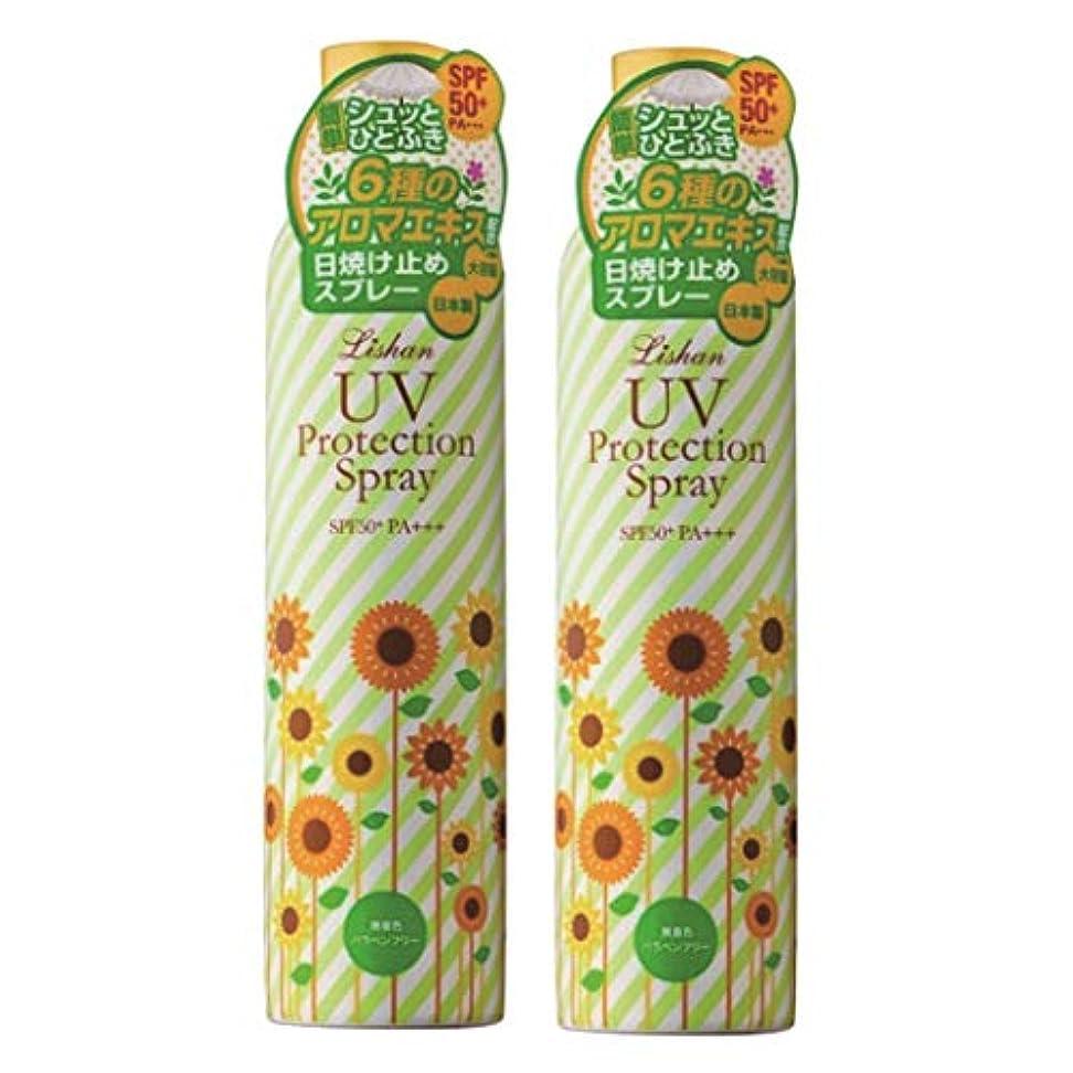 小切手請求書避難するリシャン 大容量UVスプレー(アロマミックスの香り)2本セット