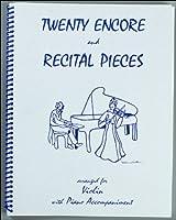 バイオリン&ピアノ伴奏譜 リサイタル&アンコール曲集