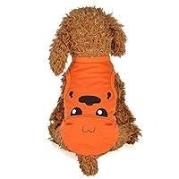 犬服 Yolaird ペット漫画ベストKTBX 洋服 春夏 タンクトップ ストライプ Tシャツ ノースリーブ 犬の服、小型犬、チワワ ドッグウェア