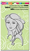 Stampendous CRR247 Beautiful Braid Cling Stamp, 7.75 by 4.5, Grey by STAMPENDOUS