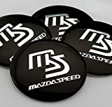 MAZDA SPEED マツダ ホイールキャップ ステッカー 57mm WS007