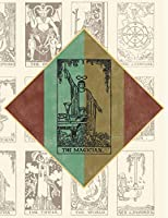 """The Magician: Tarot Card Reader Doodle Journal Notebook, 8.5x11"""" with 110 Pages, Blank & Lined for Doodles, Drawing, Writing, Planning, Dreaming"""