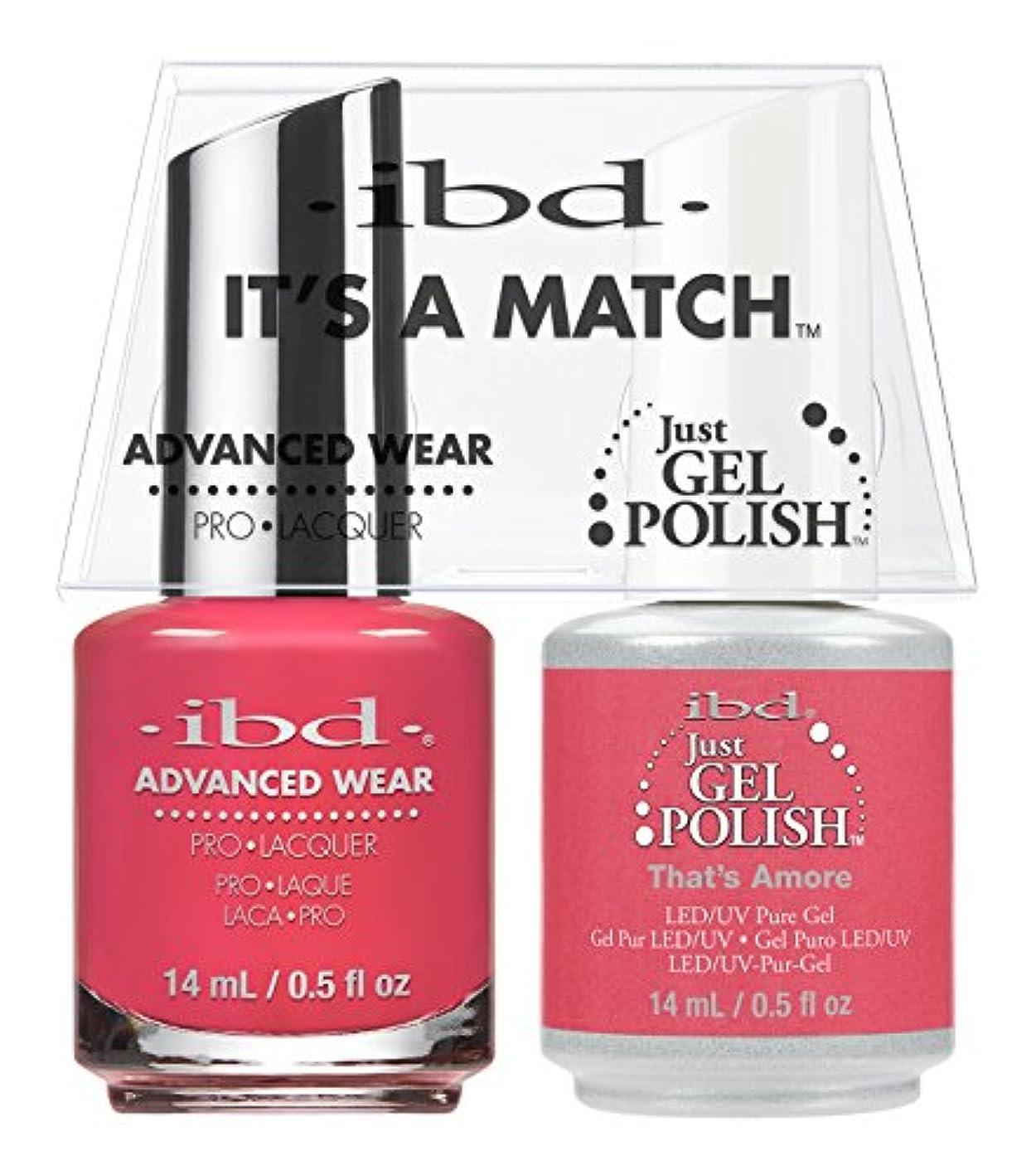 印象派扱いやすいたっぷりibd - It's A Match -Duo Pack- That's Amore - 14 mL / 0.5 oz Each