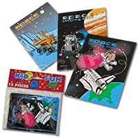 Space Coloring Books (12 Pack) by Windy City Novelties [並行輸入品]