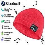 Best イオンオーディオを購入スピーカー - Bluetooth ビーニー帽 ワイヤレスニット帽 音楽キャップ ステレオスピーカーフォンヘッドセット イヤホンスピーカー マイク電話 電話 Review