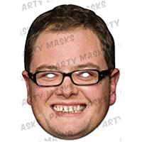 [マスク アラデ]Mask-arade Chat Show Hosts Mask Pack 2 Masks Alan Carr and Johnathon Ross LE [並行輸入品]