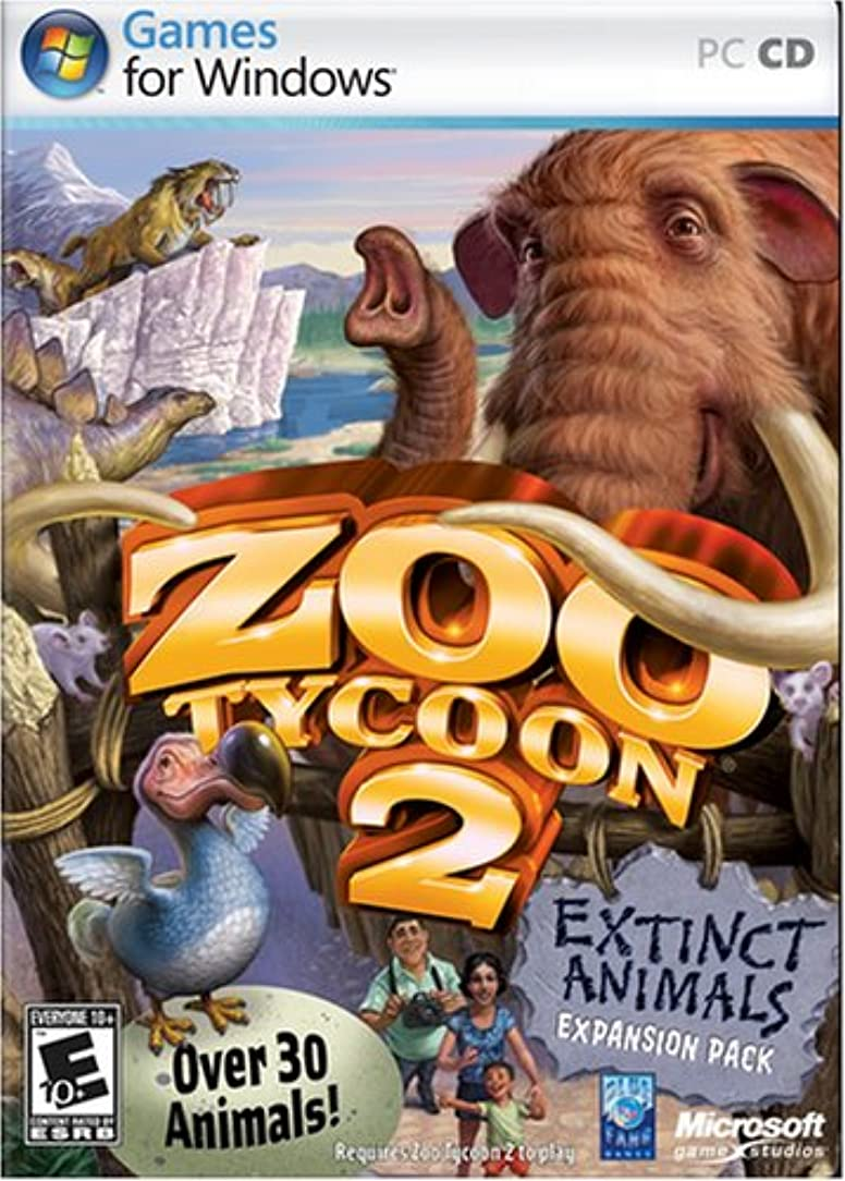 何十人も縁石ミトンZoo Tycoon 2 Extinct Animals Expansion Pack (輸入版)