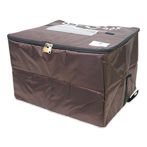 One Stop 宅配ボックス 個人宅用 大容量 60リットル 盗難防止ワイヤー 鍵付き 保冷バッグ