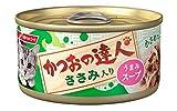 かつおの達人缶 ささみ入り うまみスープ 80g