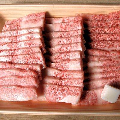 岩手県前沢牛のバラ焼肉(カルビ)400g【送料込】