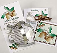 Acorn Cookie and Fondant Cutter - Ann Clark - 5 Inches - US Tin Plated Steel by Ann Clark Cookie Cutters