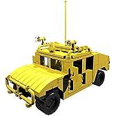 【PDF説明書データ】 HMMWV ハンヴィー輸送車両 (イエロー) LEGO レゴ カスタムモデル ミリタリー 戦車 アメリカ軍