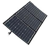 SmartTap 120W ソーラーパネル充電器 PowerArQ Solar 折りたたみ式 太陽光発電 ソーラーチャージャー 高効率ソーラーパネル搭載 DC8mm (120W/18V/6.6A) STSL120D
