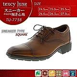 アシックス商事 ビジネスシューズ texcy luxe テクシーリュクス TU-7758 ブラウン 27.0cm 1007360 【1点】