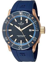 [エドックス]EDOX 腕時計 クロノオフショア1 3針 80099-37RBU3-BUIR3 メンズ 【正規輸入品】