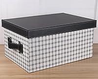 レザーエクストララージストレージボックスストレージボックスその他のストレージボックスおもちゃの服ストレージボックスベッドストレージボックス ( Color : White )