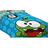 おもちゃ Cut The Rope Om Nom's Candy Microfiber Comforter 64 by 86-Inch [並行輸入品]