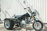 125ccトライク完成車 黒色クラッチあり デフ付 好燃費 ZH-SR125-3L