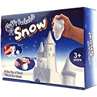 Indoor Fun Fluffy Packable Play Indoor Snow Kit with Moulding Tools