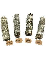 Arianna Willow Mystical バラエティスマッジスティック Copal、Frankincense、Myrrh、Yerba Santaを含む