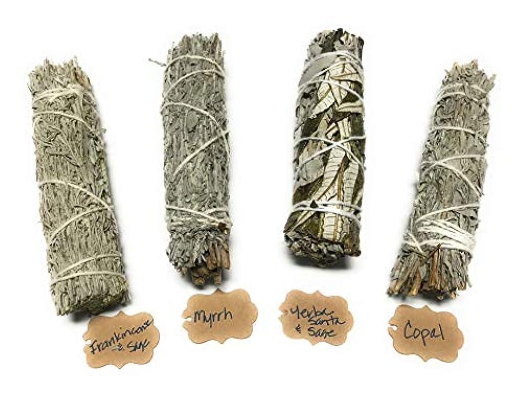 割合ライセンス一月Arianna Willow Mystical バラエティスマッジスティック Copal、Frankincense、Myrrh、Yerba Santaを含む