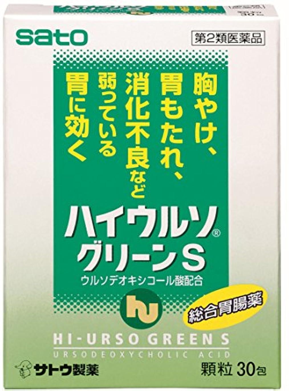 受け入れる鼓舞する無意味【第2類医薬品】ハイウルソグリーンS 30包
