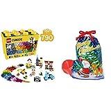 ラッピングセット レゴ (LEGO) クラシック 黄色のアイデアボックス スペシャル 10698 (サンタソックス LL)