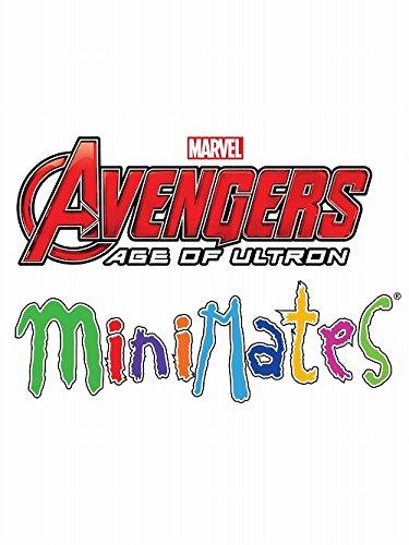 マーベル・ミニメイツ/ アベンジャーズ2 エイジ・オブ・ウルトロン 2PK シリーズ2: 12個入りボックス