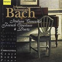 Bach;Italian Concerto/Frenc