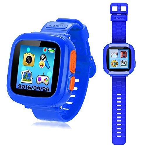 プレイウォッチ 子供 腕時計 キッズ 腕時計 スマートウォッチ 多機能 腕時計 タッチスクリー 誕生...