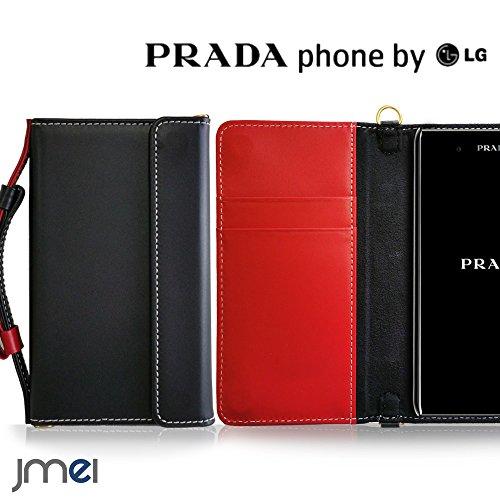 PRADA Phone by LG L-02D ケース 本革...