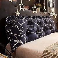 枕ベッドのあと振れ止め、二重枕ソファーのクッションの大きい背部柔らかいパックの取り外し可能な洗濯できるウエストの洗浄家の寝室のあと振れ止め (色 : B, サイズ さいず : 180CM)