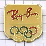 Ray Ban 限定 レア ピンバッジ レイバン眼鏡オリンピック五輪 ピンズ フランス