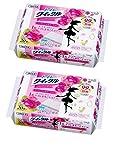 【まとめ買い】花王 トイレクイックル トイレ用洗剤 アロマ エッセンシャルローズの香り 詰替用 40枚 (20枚入× 2個)