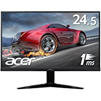 Acer ゲーミングモニター KG251Qbmiix 24.5インチ 応答速度1ms/Free Sync/フレームレス/スピーカー内蔵