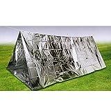 STARDUST 防水 断熱 奥行き約2.4m ツェルト アルミ エマージェンシーシェルター テント SD-EMERGS01