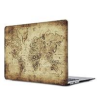 "Onkuey MacBook Pro 15 Retinaケース プラスチックパターン ハードケース 旧式 [前の世代] MacBook Pro 15.4インチ Retinaディスプレイ搭載 (A1398、CD-ROMなし) A1990/A1707 Pro 15"" Touch Bar (2018/2017/2016) Tou15-DC12"