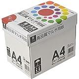 コピー用紙 インクジェット用紙  A4 500枚×5冊/箱 高品質マルチ用紙